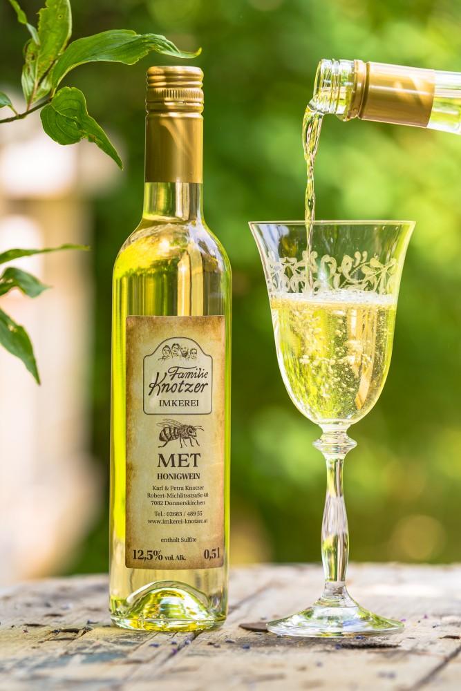 0,5 Liter Flasche Met - Honigwein